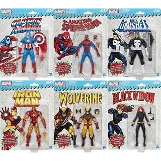 Marvel legends vintage wave avengers