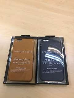 BN iPhone 6 Plus PU Leather Case w/screen protector