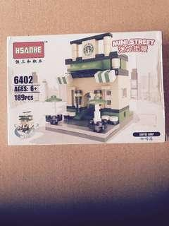 Coffee Shop (Lego Alike) Set