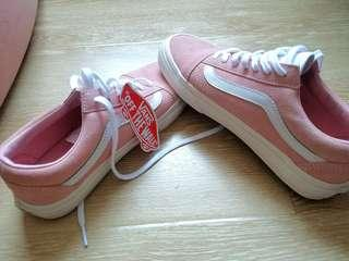 *BRAND NEW* VANS Old Skool Blossom Pink Retro Shoes SIZE US 6.5