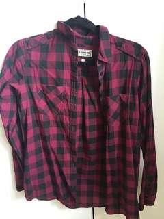 Express plaid shirt