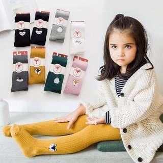 🚚 褲襪-薑黃s1-3歲