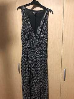 Maxi Dress Deep V Neck