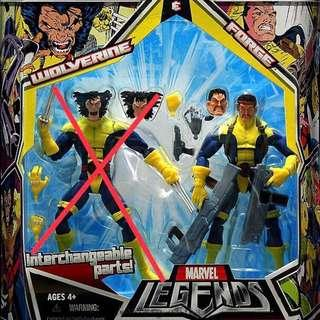 Marvel Legends 2-Pack Series 1 Forge (X-Men Classics XMC Tiger Stripe Wolverine Cyclops Rogue Bishop Storm Gambit Magneto Juggernaut BAF Avengers Infinity War Select)