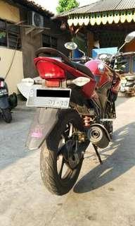 Dijual Motor Honda CBR 150R Tahun 2013