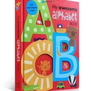 🚚 ABC立體字母書