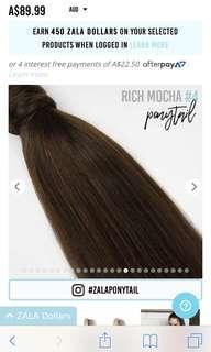 22inch Keratin Protein Rich Mocha Hair Extension