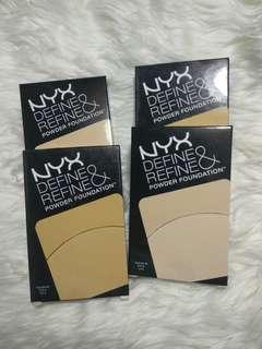 Nyx Define &refine powder foundation