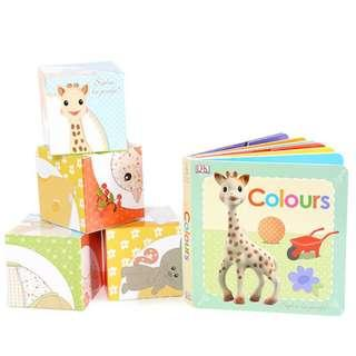 Sophie La Girafe 圖書積木套裝