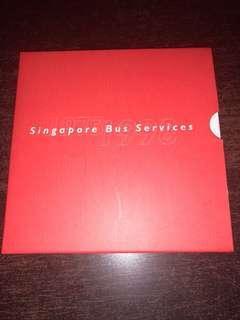 Singapore Bus Services The Singapore Mint 1973-1998 25 Anniversary Medallion Bus Card