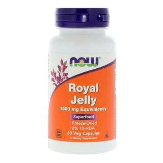🚚 Now Foods Royal Jelly 60 Veg Capsules