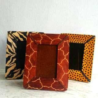 Africa Hand Crafted Photo Frame