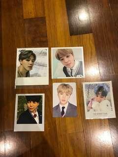 Jimin photocards