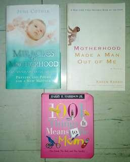 Lot of 3 Motherhood Books