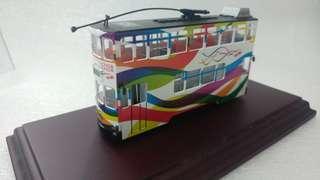香港20周年紀念版電車1:76合金模型