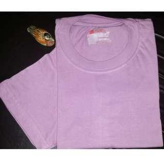 1 PC. HANES SMALL COLORED ROUND NECK TSHIRT