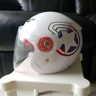 Captain America Scooter Bicycle Kids Helmet