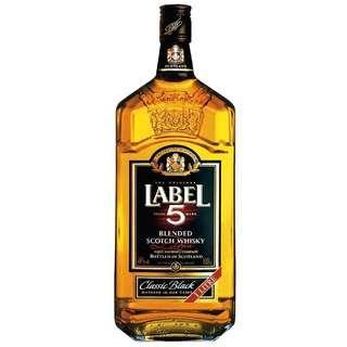 whiskey - label 5