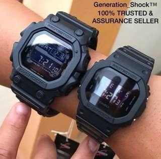 GKING-COUPLE💝SET GSHOCK 200M DIVER CASIO WATCH : 1-YEAR OFFICIAL G-FACTORY WARRANTY: 100% ORIGINAL AUTHENTIC G-SHOCK Best For Most Rough Users & Unisex: GX-56BB-1DR vs DW-5600BB-1DR / DW5600BB / DW5600 / GX56BB / GX56 / DW-5600 / GX-56 / GSHOCK