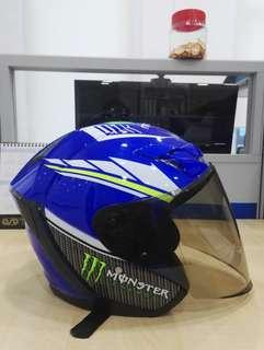 Helmet MHR Movistar size L (60) with smoked visor