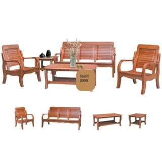 5 in 1 Solid wood Sofa set ❤️