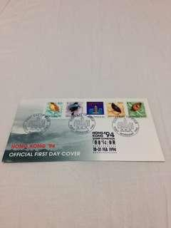 (Brand New, Original) Hong kong 94 official first day cover port moresby png 18february1994  郵票 stamp 首日封 (Straight Version)  (全新,直板)   香港🇭🇰出品  Made in Hong Kong 🇭🇰  Straight Version 正版. Good deals