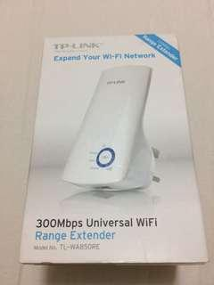 (全新,原裝香港行貨 🇭🇰)(Original, Brand New) TP-LINK 300Mbps Universal WiFi Range Extender Model No. TL-WA850RE  Https://www.tp-link.com