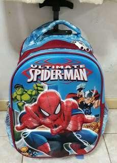 Spiderman trolley bag