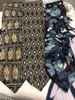 Set of Vintage ties