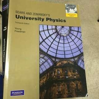 物理原文書 University physics