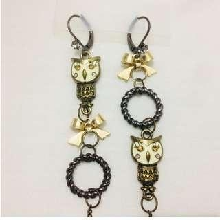 Classy and Stylish Owl Earrings