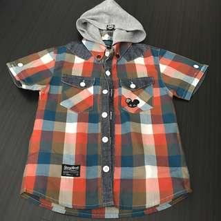 Boy Shirt stay real 3-4yrs