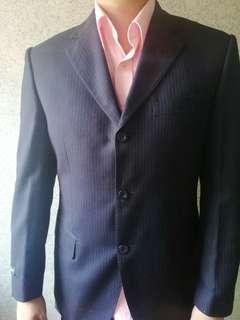 Van Huesen mens formal suit coat set Navy blue