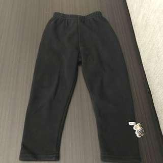 Fleece winter pants 3-4yrs