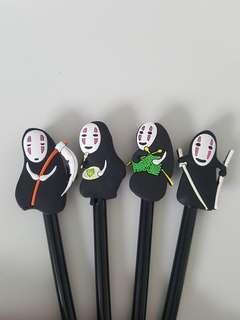 Cute Kaonashi Pens