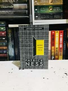 Patrick Ness | More than This