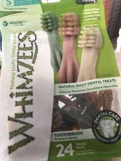 Whimzees toothbrush 24small petit