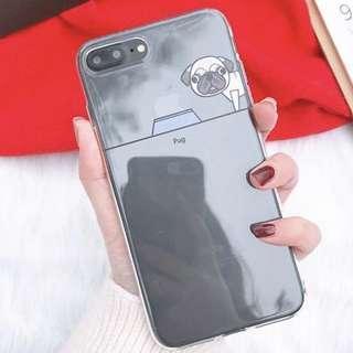 BN iPhone 7 transparent casing (Bulldog)
