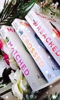 Matched Trilogy by Allie Condie