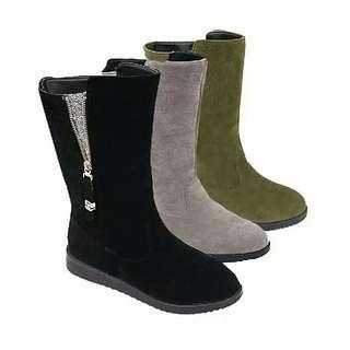 flat boot tanpa zipper