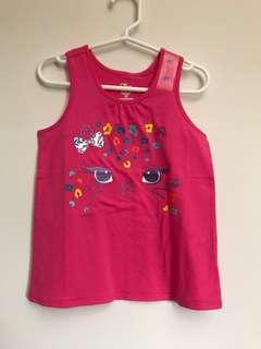 The Children's Place Girls Racer-back Tank Top (Kitty Cat)