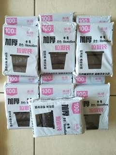 PLASTIC BAG ( 100 per pack )