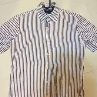 Authentic short sleeved Polo Ralph Lauren shirt Sz14.5
