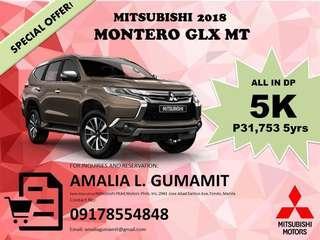 2018 Montero GLX MT