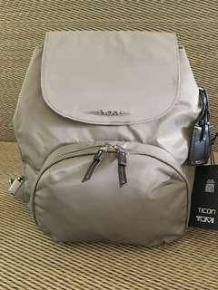 Ready stock Special price: Tumi Lady Lite brown nylon backpack