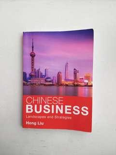 CHINESE BUSINESS by Hong Liu
