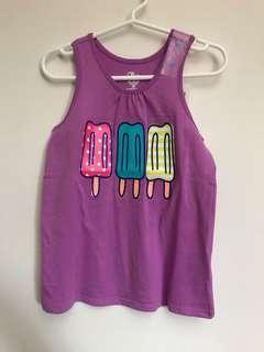 The Children's Place Girls Racer-back Tank Top (Ice Cream)