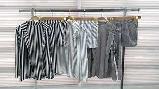 Kulie blazer and shorts coordinates