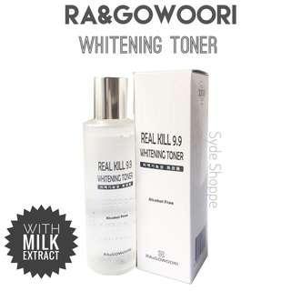 RA&GOWOORI REAL KILL WHITENING TONER 200mL