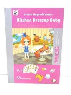 Kitchen dressup baby